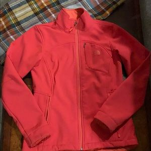 The NorthFace size small fall jacket barely warn.